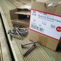 Destockage vis inox A4 terrasse pour bois tendre 5x50