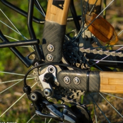 Nos vis inox équipent le vélo de tony