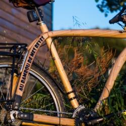 Cadre vélo bambou